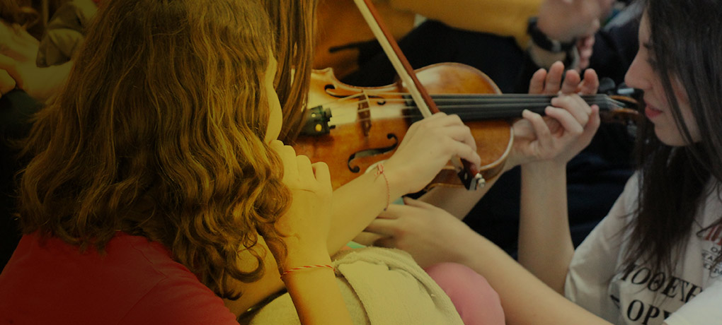 Chamber Academy Information for young italian musicians