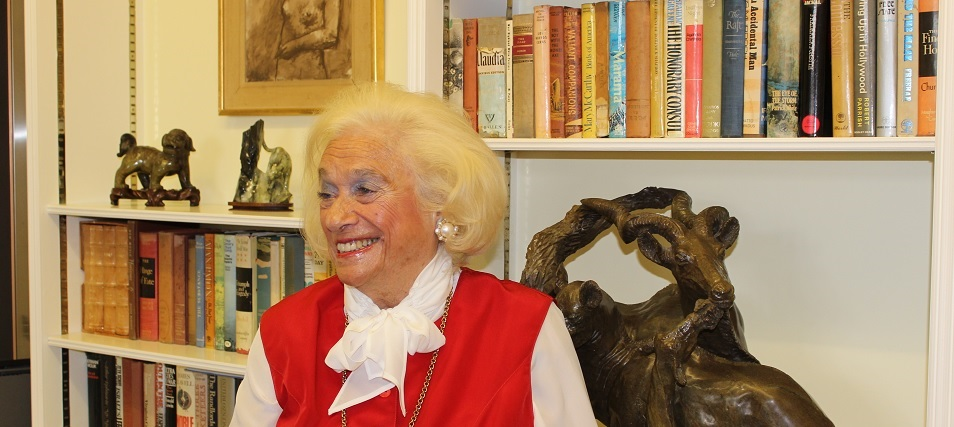 Joy Bryer, EUYO Co-founder, President and inspiration passes away aged 88