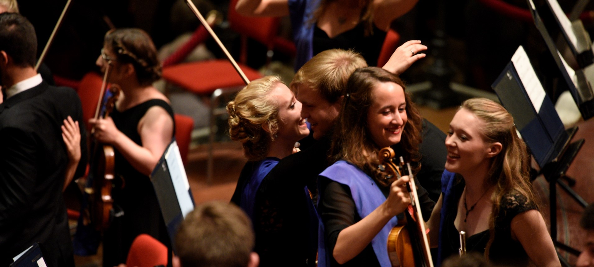 Every year the EUYO auditions thousands of hopeful young musicians from all 28 EU member states to produce an EU Orchestra with the highest possible level of excellence