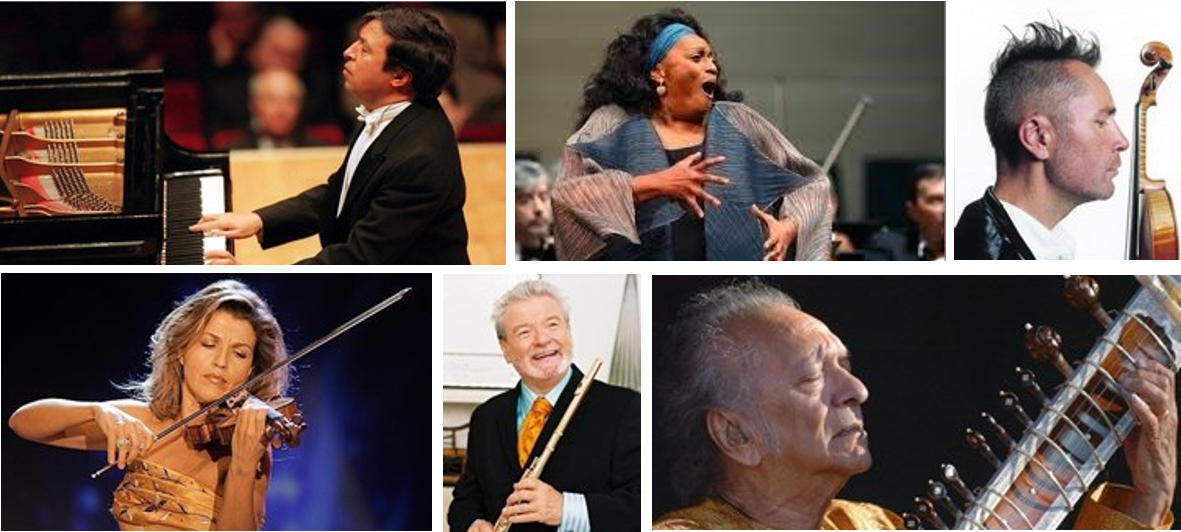 The EUYO regularly performs with eminent international soloists.
