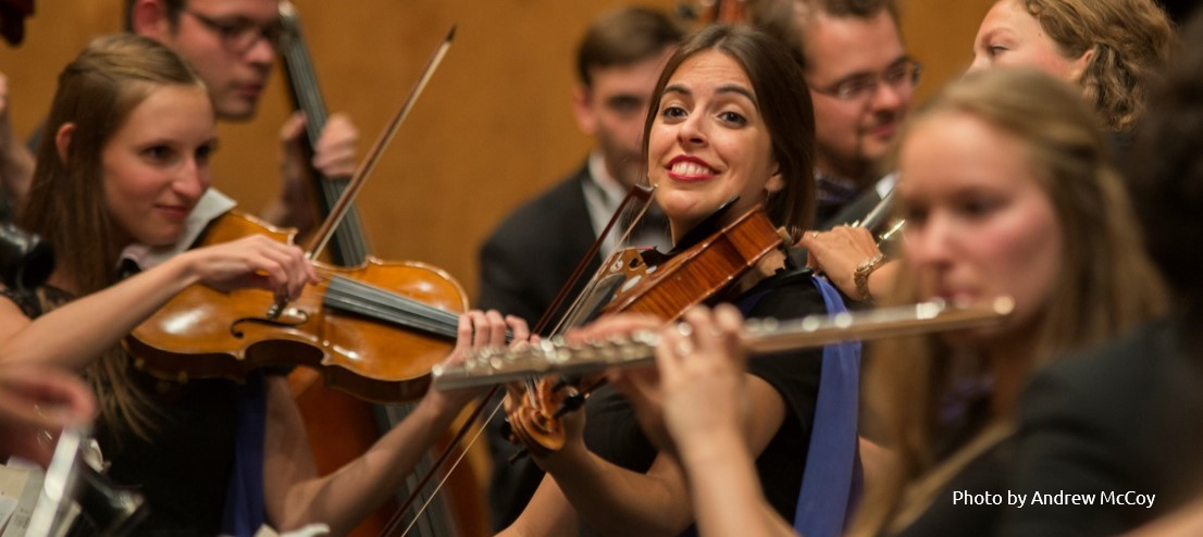 The EUYO - Bringing together the most talented young musicians from all EU member states in an orchestra united by a shared sense of European heritage and innovation, and the constant pursuit of excellence